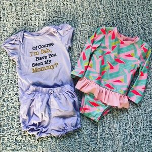 Mixed 12-18 Months Girls Clothing
